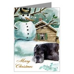 neapolitan mastiff christmas cards
