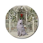 Samoyed Christmas ornament will be a favorite on your tree, or use as a gifts topper.