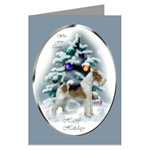 Wire Fox Terrier Christmas cards are a wonderful way to send holiday greetings to your loved ones.