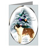 Saint Bernard Christmas cards are a wonderful way to send holiday greetings to loved ones.