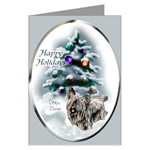 Skye Terrier Christmas cards are a lovely way to send your holiday greetings to loved ones.
