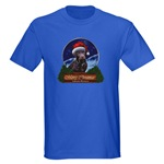 Chocolate Labrador retriever Christmas gifts and apparel items