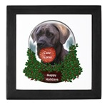 cane corso christmas keepsake box. Christmas gifts to treasure.