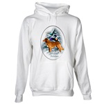 duck toller christmas holiday apparel, hoodies, sweatshirts, and other clothing