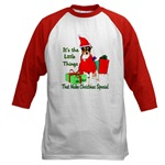 rat terrier christmas holiday apparel in both adult and kids sizes