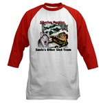 siberian husky christmas apparel in both adult and kids sizes