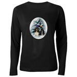 shih tzu xmas clothing in long or short sleeves