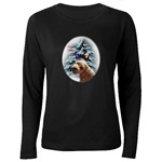 schnoodle holiday apparel for the whole dog loving family with our elegant art oval design