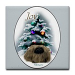 peke lovers art tile coasters, great christmas gifts