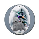 West Highland White Terrier Christmas ornament will be a favorite on your tree, or use as a gifts topper.