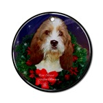 Petit Basset Griffon Vendeen Christmas ornment will be a favorite on your tree, or use as a gifts topper