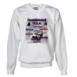 Redbone Coonhound sweatshirt