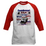 Redbone Coonhound t-shirts, baseball jersey, ringer T's, and other shirt choices