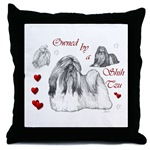 shih tzu lovers throw pillow a great home decor touch