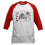 loved by a shih tzu baseball jersey