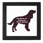If your BFF (Best Friend Forever) is an American Water Spaniel, then check out all the great products to flaunt it!