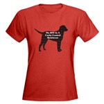 Curly Coated Retriever lovers apparel. Several styles and colors of t-shirts, sweatshirts, hoodie, in sizes for the whole family