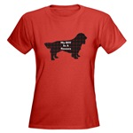 sussex spaniel lovers t-shirts in lots of colors and styles for the whole family