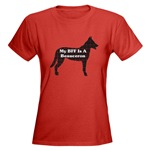 Beauceron lovers womens t-shirt available in several  color options