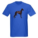 Whippet lovers t-shirts, sweatshirts, hoodies, and other apparel items in sizes for the whole whippet loving family