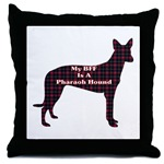 Pharaoh Hound gifts, accessories, thow pillow, mugs, keepsake box, posters, cards, and more great gift ideas