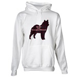Norwegian Elkhound hoodie, sweatshirt, and other clothing created for Elkhound owners