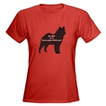 Norwegian Elkhound t-shirts in lots of colors and styles for the whole family