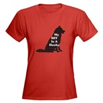 If your BFF is a Siberian Husky, then wear with pride one of our original sibe designs on lots of apparel choices