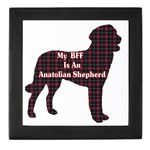 Anatolian Shepherd keepsake box is a beautiful gift for any occasion for the anatolian shepherd owner