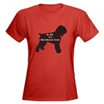 Black Russian Terrier owners t-shirts, sweatshirts, and hoodies, in sizes for the whole dog loving family