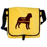 Neapolitan Mastiff accessories, messenger bag, tote bag, cap, hats