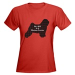Tibetan Terrier apparel items, t-shirts in loads of colors and styles to choose from