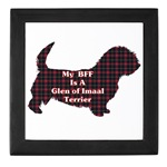 Glen of Imaal Terrier gifts include this lovely keepsake box