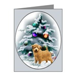 Norfolk Terrier Christmas cards are a wonderful way to send holiday greetings to loved ones