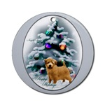 Norfolk Terrier Christmas ornaments for your tree, or use as an elegant gifts topper