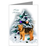 Welsh Terrier Christmas cards are a lovely way to send your holiday wishes to family and friends.