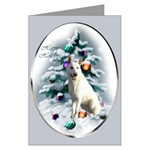 White German Shepherd Christmas cards are a lovely way to send your holiday greetings to loved ones.
