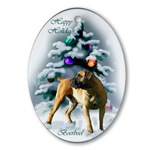 Boerboel Christmas ornament will be a favorite on your tree.