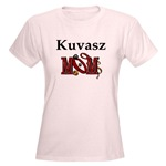 Kuvasz Mom t-shirts and other apparel items, accessories, gifts