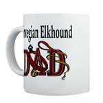 Norwegian Elkhound Dad clothing and gift merchandise