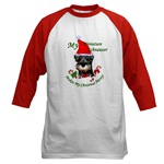 miniature schnauzer chirstmas apparel, holiday clothing, sweatshirts, and more