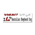 I Love my Anatolian Shepherd bumper sticker, tshirt, cap, mug, and more products