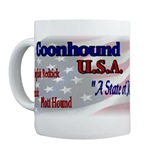 Redbone Coonhound gifts include our mugs, coasters, steins, posters, prints, tote bags, and more