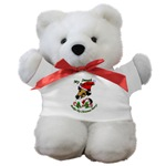 Smooth fox terrier teddy bear, terrific gift ideas for SFT lovers