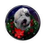Old English Sheepdog Christmas ornaments for your tree, or use as an elegant gifts topper