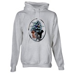 Poodle holiday art apparel items, hoodie, sweatshirt, and other styles of clothing for the Christmas season.