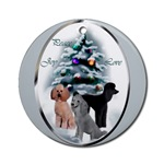 Poodle Christmas ornament will be a favorite on your holiday tree, or use as an elegant gifts topper