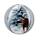 curly coated christmas ornament, a lovely addition to your christmas decorations