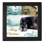 neapolitan mastiff christmas keepsake box, great gift ideas