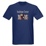 sealyham terrier t-shirts in dark and light colors
